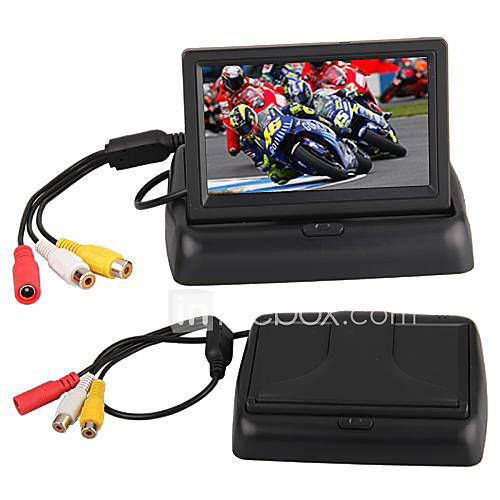 Description: function: digital color tft lcd car rear-view monitor features