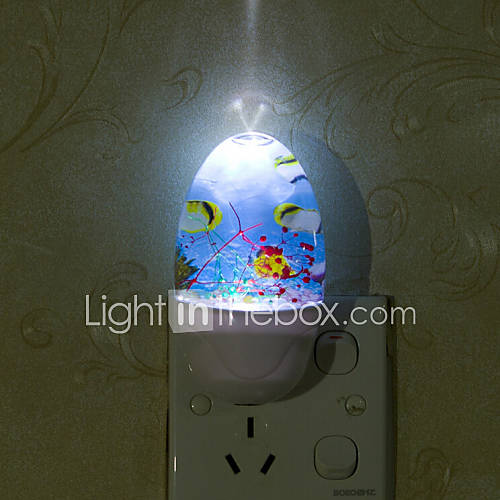 Lovely undersea world smart light controlled emergency led for Kids room night light