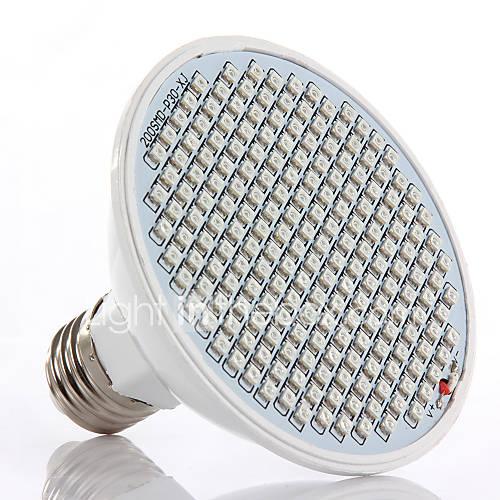 24W E26/E27 Luces LED para Crecimiento Vegetal 200 1500 lm Rojo / Azul AC 85-265 V 1 pieza