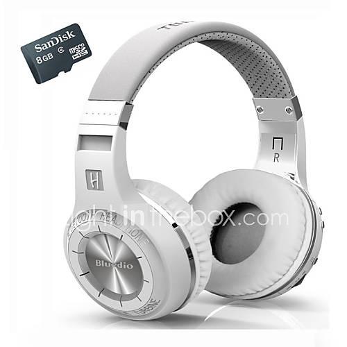 auriculares inalámbricos h bluedio  estéreo Bluetooth micrófono incorporado micro-sd / radio FM bt4.1 más Auriculares internos  tarjeta Descuento en Lightinthebox