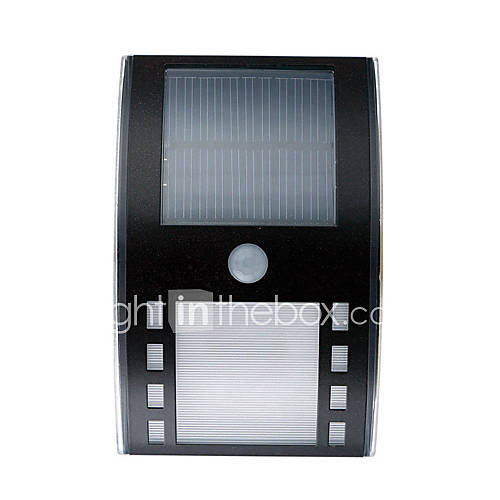 3LEDS White Color Solar Powered LED PIR Motion Sensor Outdoor Path Wall Light Garden 4869130 ...