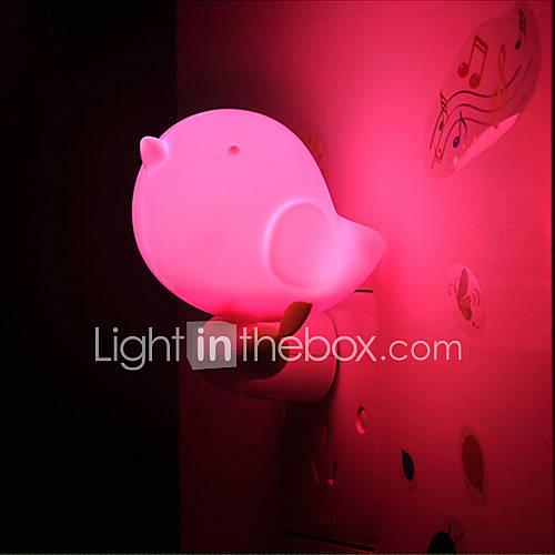 sch ne intelligente dschungel vogel licht licht gesteuert notfall led nachtlicht f r. Black Bedroom Furniture Sets. Home Design Ideas
