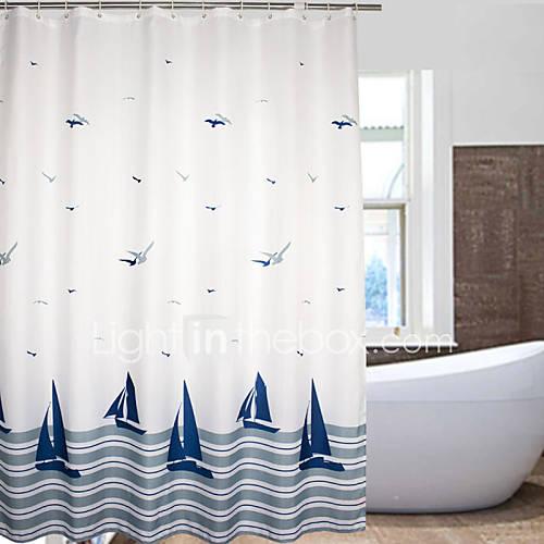 Tende da doccia tutte le offerte cascare a fagiolo - Rideau style marin ...