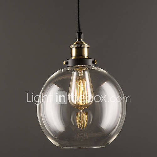 Industrial factory pendant lamp antique brass one light for A lamp and fixture