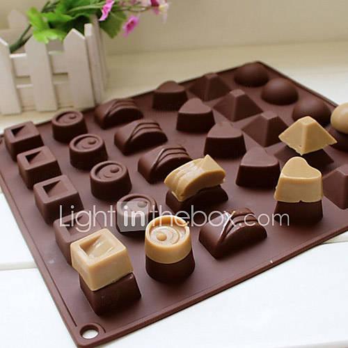 1 Horneando Alta calidad Chocolate / Hielo Silicona Utensilios para hornear y pasteles Descuento en Lightinthebox