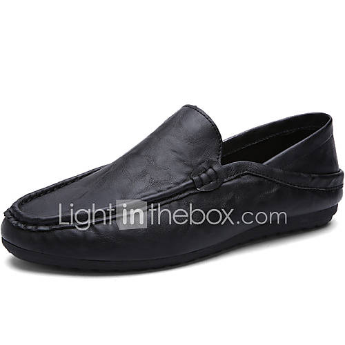 Men 39 S Shoes Office Casual Style Leather Boat Shoes Men