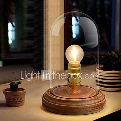 nordic mediterranean style fumigated wood desk lamp for reading room bedroom. Black Bedroom Furniture Sets. Home Design Ideas