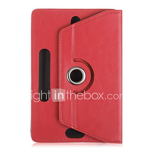 universal de 10 ''caja de la tableta de la pulgada 360 gira la cubierta de cuero del caso del soporte para el caso protector ficha 10 Descuento en Lightinthebox