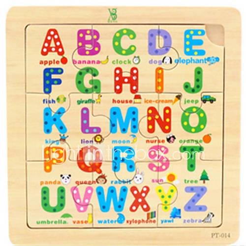 juguetes del rompecabezas de rompecabezas de dibujos animados de los niños pequeños Lightinthebox