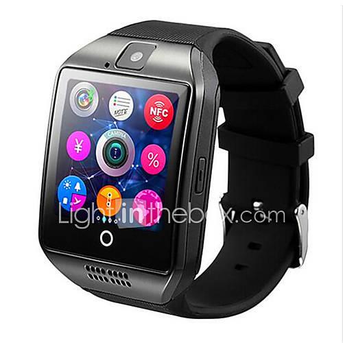 q18 pantalla curva de cassette del reloj del teléfono inteligente insertada soporte NFC manzana androide plataforma iOS Descuento en Lightinthebox
