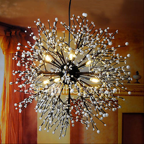 Industrial Wind Star Pendant Decorative Clothing Coffee Bar Club LED Firework
