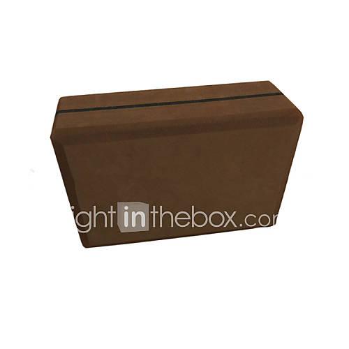 eva corcho yoga ladrillo ladrillo de alta calidad yoga ladrillos de alta densidad ambientales bloques de espuma de mal gusto 40 grados Descuento en Lightinthebox