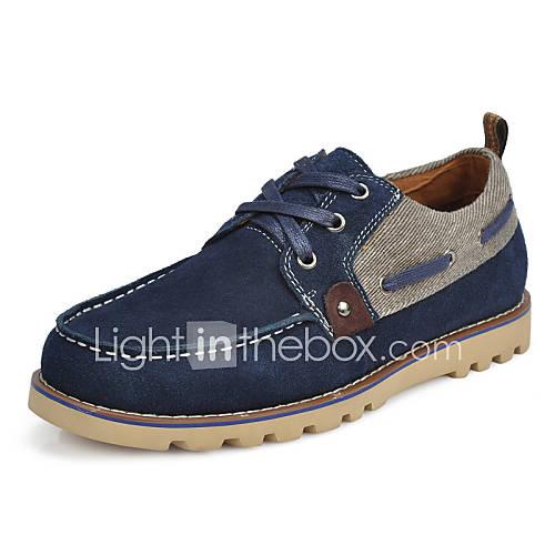 chaussures hommes bureau travail d contract marine daim baskets la mode chaussures de. Black Bedroom Furniture Sets. Home Design Ideas