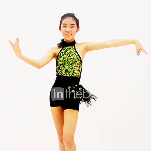 tenue comme l image dentelle paill 233 t 233 lycra danse moderne jazz spectacle danse moderne