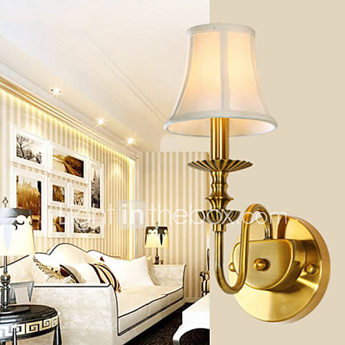 Classic Bedroom Wall Lamps, Simple Metal Living Room Wall Sconce Bar Cafe Hallway Balcony Wall ...