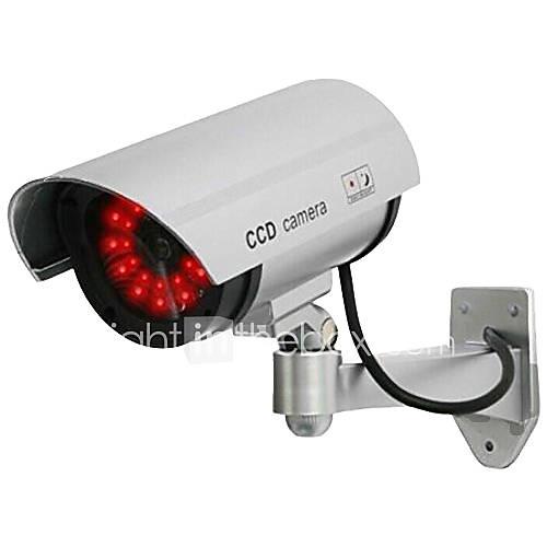 kingneo cámara 1pc wireless falso muñeco CCTV de la bóveda de seguridad llevó la luz Descuento en Lightinthebox