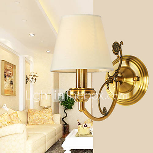 classic bedroom wall lamps simple metal living room wall sconce bar
