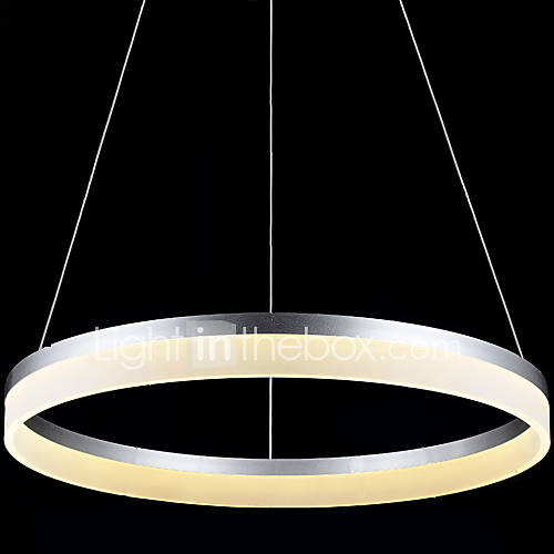 Round LED Pendant Light Modern Acrylic Lamps Lighting