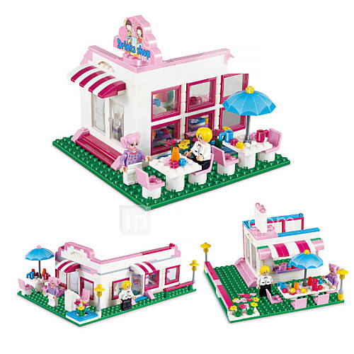 Construction Toys For Girls : Quot new pcs models building diorama for girls toy