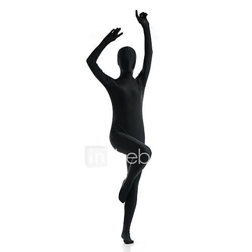 Zentai Suits Ninja Zentai Cosplay Costumes Black Solid Leotard/Onesie / Zentai Lycra / Spandex Unisex Halloween / Christmas