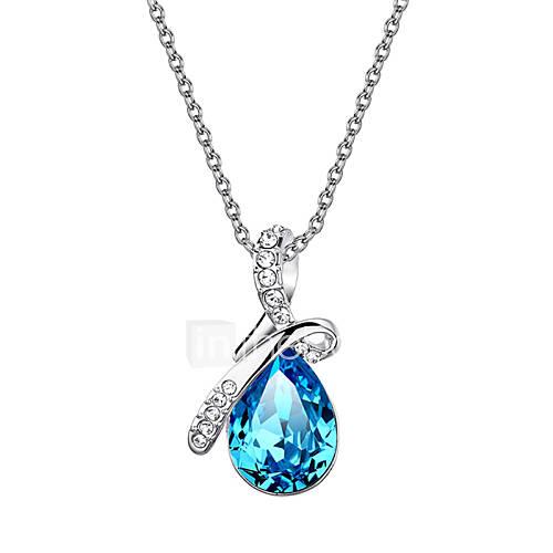 homens-mulheres-feminino-colares-com-pendentes-cristal-caido-cristal-zirconia-cubica-liga-moda-adoravel-classico-joias-para-casamento