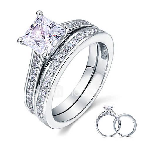 925 Sterling Silver Women New Korean Jewelry Zircon Women Rings High End Diam