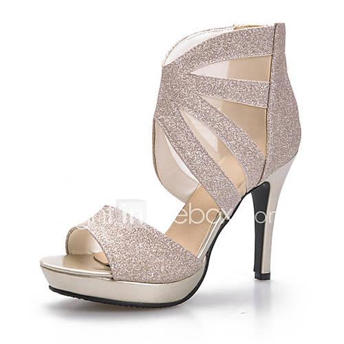 s shoes customized materials stiletto heel peep toe
