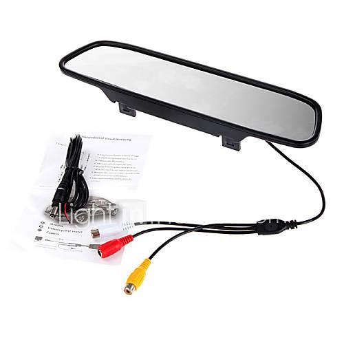 5 hd polegadas de 800x480 TFT-LCD retrovisor do carro monitorar com suporte reverter câmera de segurança de alta qualidade