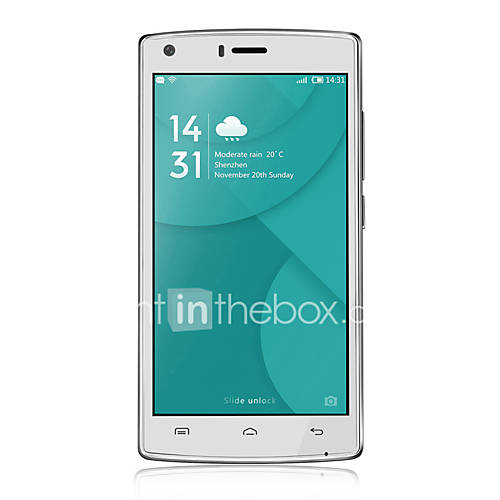 DOOGEE X5 MAX 5.0 '' Android 6.0 Smartphone 3G (SIM Dual Quad Core 8 MP 1GB  8 GB Negro / Blanco) Descuento en Lightinthebox