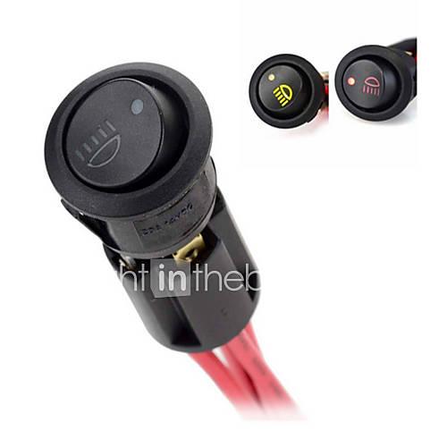 jtron-luz-de-nevoeiro-diy-rocker-switch-on-off-w-base-de-montagem-indicadores-led-preto-vermelho