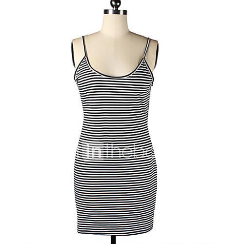 bandje-u-hals-polyester-acryl-katoenmixen-blote-rug-mini-vrouwen-jurk-mouwloos