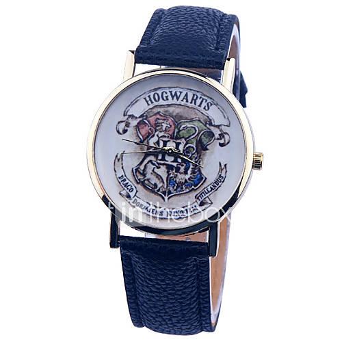 Mujer Reloj de Moda Cuarzo PU Banda Negro / Blanco / Azul / Color Beige Marca- Descuento en Lightinthebox