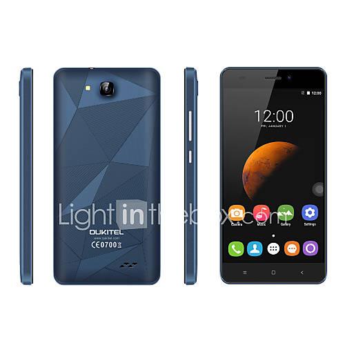 OUKITEL C3 5.0 '' Android 6.0 Teléfono móvil (SIM Dual Octa Core 13 MP 1GB  8 GB Blanco / Negro y Azul / Azul Oscuro / Negro / Oro) Descuento en Lightinthebox