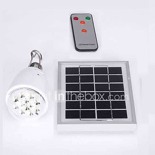 Regulables de control remoto de la l mpara solar de - Lamparas solares interior ...