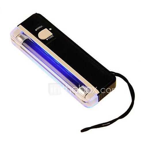 2 en 1 uv lampe torche lumi re noire portable d tecteur de tr sorerie faux argent couleur. Black Bedroom Furniture Sets. Home Design Ideas
