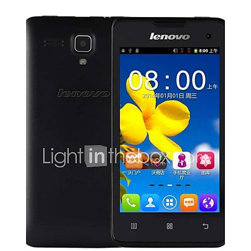 """Lenovo A396 4.0""""HD Android 2.3 LTE Smartphone(WiFiGPSQuad Core256MB512MB2MP0.3MP1500MAh Battery)"""