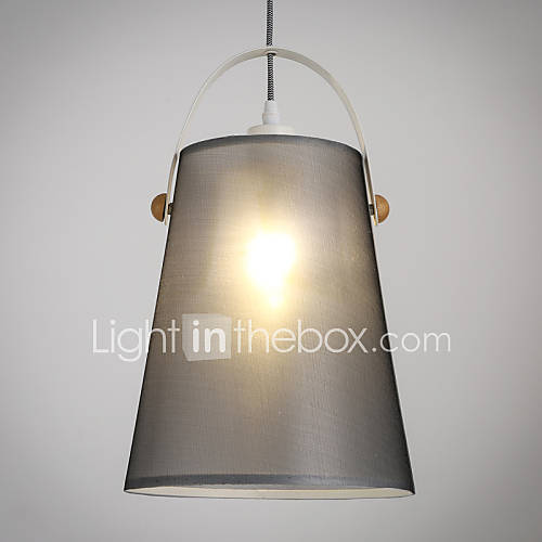 Ceiling Lamp Shades For Living Room: Modern Classic Black Metal Ceiling Lights With Fabric