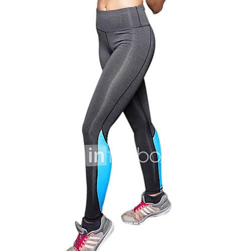 Legging Para Mujer Un Color Fino-Poliéster Descuento en Lightinthebox