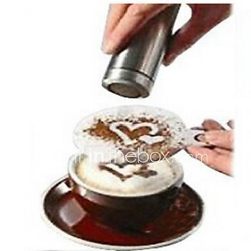 8pcs café de la novedad de lujo guirnalda de café Molde de la impresión del molde Descuento en Lightinthebox