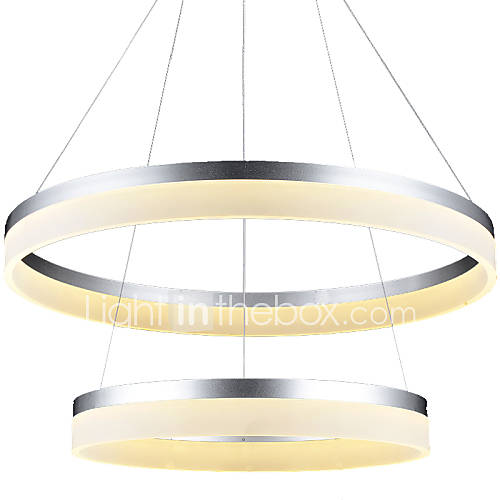 Ceiling Light Led Ring : Led ring pendant light lighting ceiling chandeliers lamp