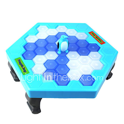 mesa jardim bloco cad:Penguin Ice Game with Blocks