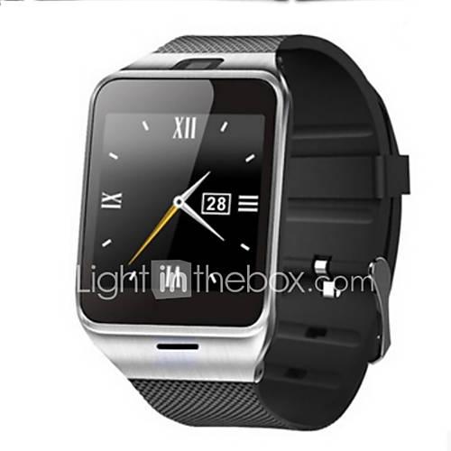 primero bluetooth nfc gv18 reloj inteligente cámara SmartWatch tarjeta SIM GSM para iOS y teléfono Android Descuento en Lightinthebox