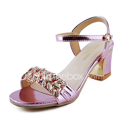 s shoes chunky heel open toe sandals dress casual