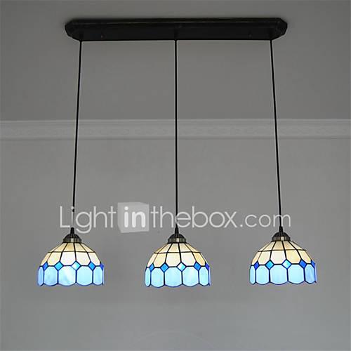 8inch 3 lights Retro Tiffany Pendant Lights Glass Shade  : uzbhdq1463624711811 from www.lightinthebox.com size 500 x 500 jpeg 19kB