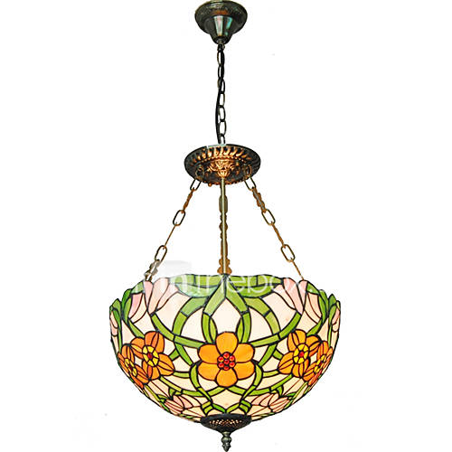 16inch Retro Tiffany Pendant Lights Glass Shade Living  : vgklqd1463624703294 from www.lightinthebox.com size 500 x 500 jpeg 30kB