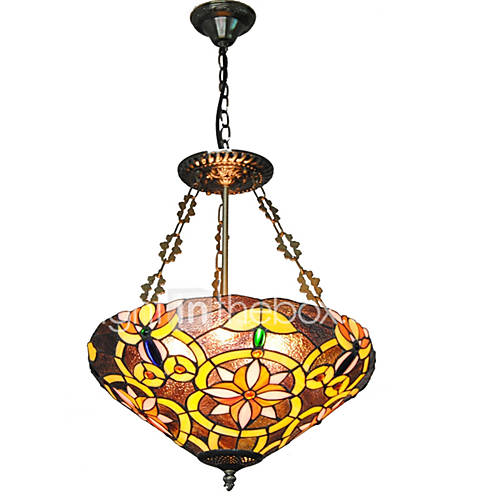 16inch Retro Tiffany Pendant Lights Glass Shade Living  : wensyc1463624703752 from www.lightinthebox.com size 500 x 500 jpeg 32kB