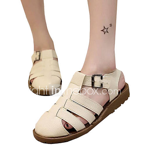 Excellent  About City Classified Women39s Closed Toe Mary Jane Flat Sandals