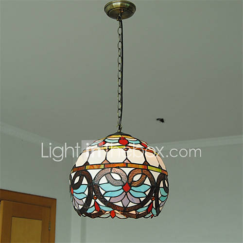 12inch retro pendant lights glass shade living