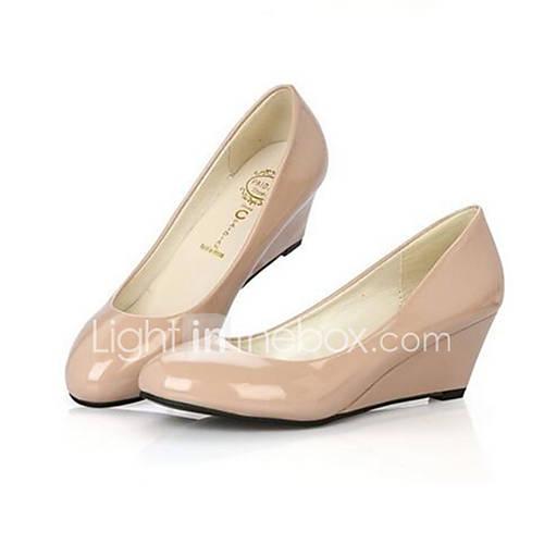 Womens Shoes Wedge Heel Wedges Heels Wedding Black White Beige 4989810 2016 2499