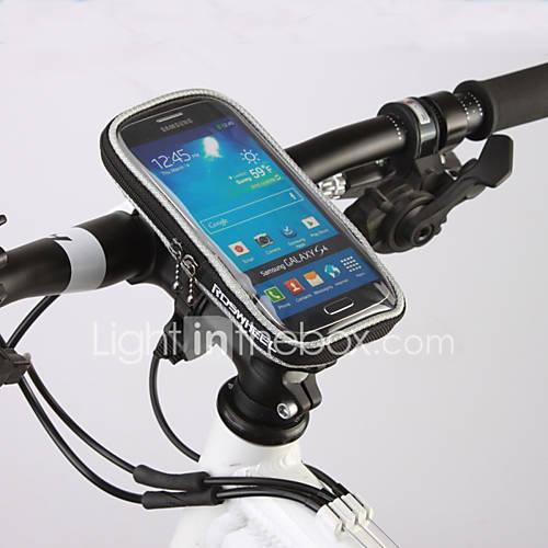 ROSWHEEL Bolsa para BicicletaBolsa para Manillar Cremallera a prueba de agua A Prueba de Humedad A Prueba de Golpes Listo para vestir Lightinthebox